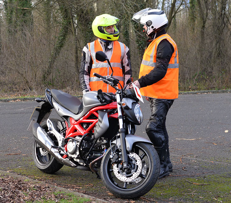 Motorcycle Instructor Training - ATB Owners training their staff